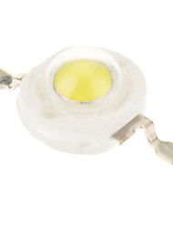 1W High Power 100-110LM 6000-6500K Cool White Light LED Emitter (3.2-3.5V)