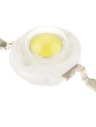 1W alto potere 100-110LM 6000-6500K Bianco emettitore di luce a LED (3.2-3.5V)