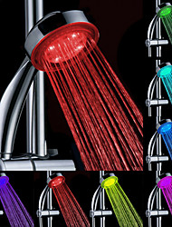 Chrome Finish Multi-color LED Hand Shower