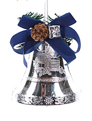 Blue Silver Jingle Bell de Bell de Natal