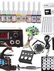 1 Cast Iron Tatoo Machine Kit for Lining and Shading