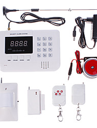 NEW Wireless GSM/PNTS/SMS/Call Autodial Voice Home Security Alarm System
