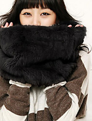 Women Faux Fur Scarf , Casual