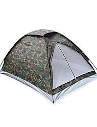 Qualidade impermeável Camouflage Two Pessoa amantes Tent pacote de alta para Camping