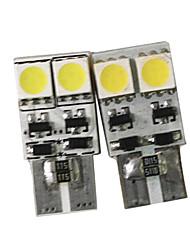 T10 194 168 2825 3-smd White High Power LED Car Lights Bulb (1 Pair)