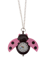 Unisex Lovely Women's bug Style Alloy Quartz Analog Necklace Watch (Assorted Colors) Cool Watches Unique Watches
