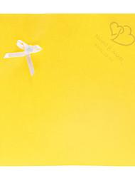 Personnalisé papier pétale cônes avec des fleurs blanches - Ensemble de 12 (plus de couleurs)