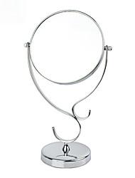 """6 """"H Stilisierte Metall Tabletop Spiegel"""