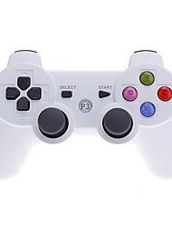 Беспроводной контроллер Bluetooth с Цветные кнопки для PS3 / PC (белый)