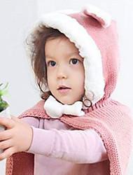 Kawaii Тепло девушки Hat и шаль