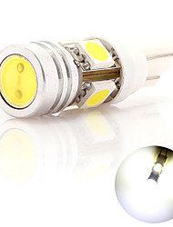 LED Car Light T10 4 5050 SMD Lamp Bead White