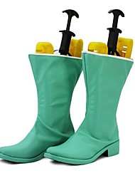 Tokyo Mew Mew Minto Light Green PU Leather Boots