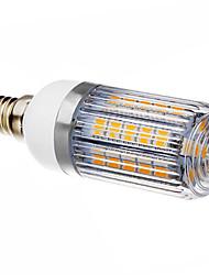 5W E14 LED лампы типа Корн T 36 SMD 5050 420-450 lm Тёплый белый AC 220-240 V