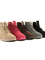 Women's Classic Lace-up Winter Ankle Boots