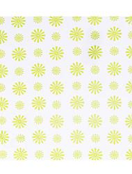 Personnalisé Green Dandelion Motif Papier Pétale Cônes - Ensemble de 12
