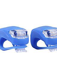 2 stuks kikker voor fiets licht 2-onder leiding 3-mode kikker fietsverlichting (2 * CR2032)