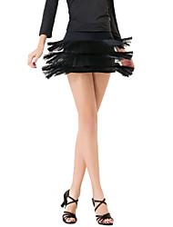 Elegante Dancewear Viscose Saia Dança para Senhoras (mais cores)