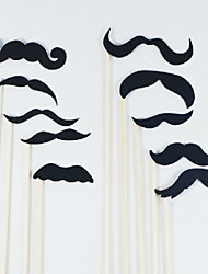 Wedding Décor Costumes Beard for Fancy Dress Party - Set of 14 Pieces