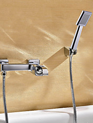 Sprinkle® Shower Faucets  ,  Contemporary  with  Chrome Single Handle Two Holes  ,  Feature  for Wall Mount
