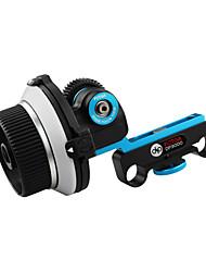 Fotga DP3000 sigue el foco de DSLR 5D II 7D III 15mm D90 Vara Gear Tamaño Opcional