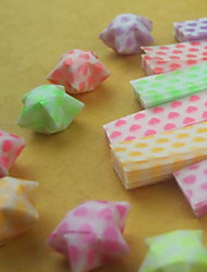 Luminous Star Origami Materials(27 Pieces)