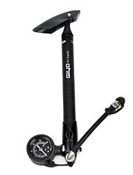 GIYO-Bike liga de alumínio da bomba portátil preto com manômetro