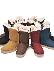 Women's Winter Rivet Mid-Calf Boots