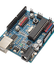 AVRmega328P-PU Development Board for (For Arduino) (Works with Official (For Arduino) Boards)