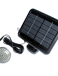60-LED Indoor Solar Light System Solar LED-lamp licht