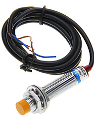 LJ12A3-4-Z/BX Induktive Näherungsschalter - Black + Silver (DC 6 ~ 36V / 100cm-Kabel)