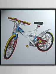 Bycicle Натюрморт обрамленная картина маслом
