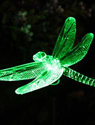 Solaire RVB Dragonfly pieu Jardin Lumière