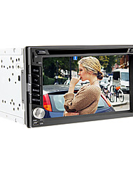 6.2inch universale 2 DIN auto in-dash lettore DVD con 3G, WIFI, GPS, BT, IPOD, RDS, DVB-T, Touch Screen