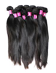 5a бразильского Виргинские природных прямые выдвижения человеческих волос утка (16 дюймов)