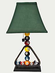 Moderne billard Creative Resin Table Lamp