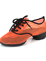 Unisex's Mesh Fabric Upper Dance Shoes Dance Sneakers(More Colors)