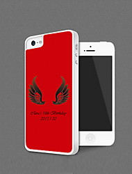 Personalized Angel Wings Protection Shell for iPhone 5 (More Colors)