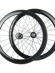 700C full carbon 50mm Clincher Fixed Gear Wielset 20/24 holes