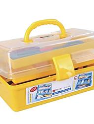 Современные случайные цвета складной Ящик для инструментов