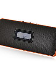 SENIC SN-103 Portable Mini haut-parleur élégant avec fente pour carte SD et FM