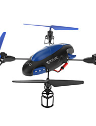 Attop YD719 2.4G Grand arbre 4 Channel RC UFO Quadcopter avec Gyro
