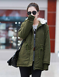 Women's Coats & Jackets , Cotton/Others Casual QSYR