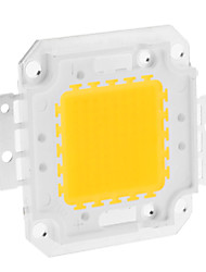 DIY 80W 6350-6400LM 2400mA 3000-3500K Warm White Light Integrated LED Module (30-36V)