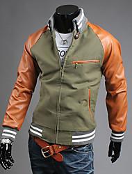 VSKA Мужская Сплит объединенном стенде шеи куртка