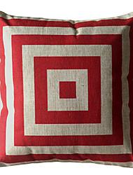 Caja de la Plaza Roja decorativo almohada cubierta