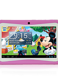 """Kids 7.0"""" WiFi Tablet(Android 4.1,ROM 4G,Dual Camera, Children Kids Pink)"""
