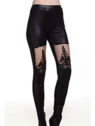 Women's Fashion Floral Embroidery Leggings