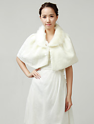 Elegant Faux Fur Wedding/Party Shawls