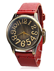 Women's Leather Band Analog Quartz Wrist Watch (Assorted Band Colors) Cool Watches Unique Watches