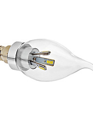 Candle Bulbs , E14 2.5 W 225 LM Cool White AC 100-240 V